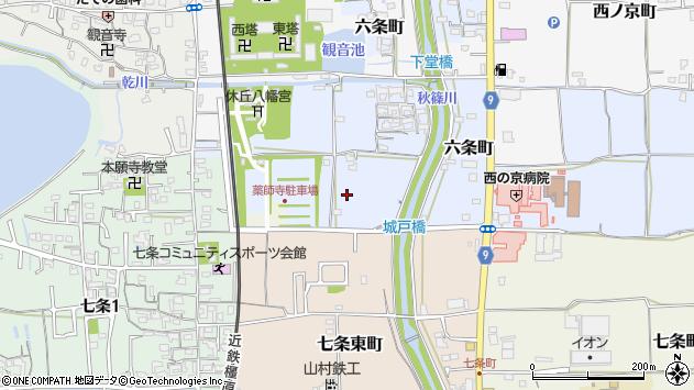 〒630-8041 奈良県奈良市六条町の地図