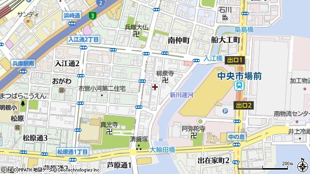 〒652-0847 兵庫県神戸市兵庫区切戸町の地図