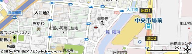 兵庫県神戸市兵庫区切戸町周辺の地図