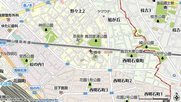 〒673-0017 兵庫県明石市野々上の地図