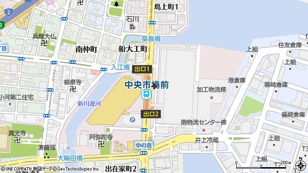 〒652-0844 兵庫県神戸市兵庫区中之島の地図
