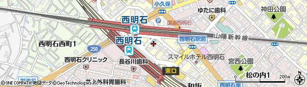 ホテルプレフォート西明石周辺の地図