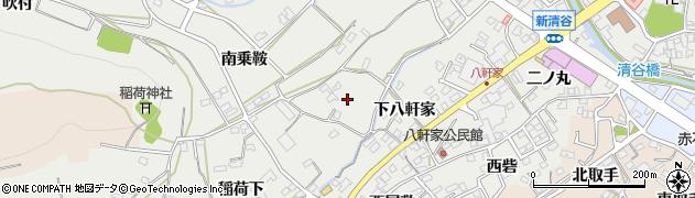 愛知県田原市田原町(女夫石)周辺の地図