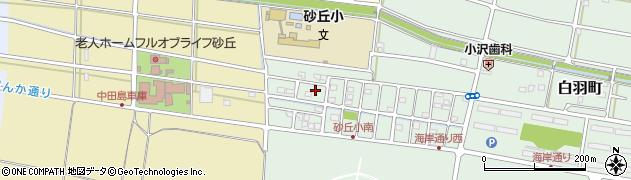 静岡県浜松市南区白羽町周辺の地図