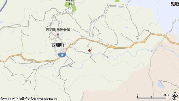 〒630-0236 奈良県生駒市西畑町の地図