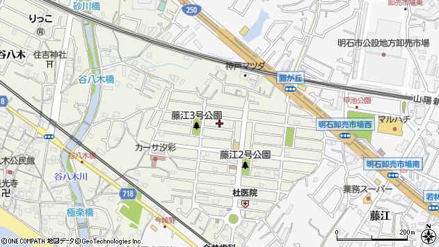 〒673-0046 兵庫県明石市藤が丘の地図