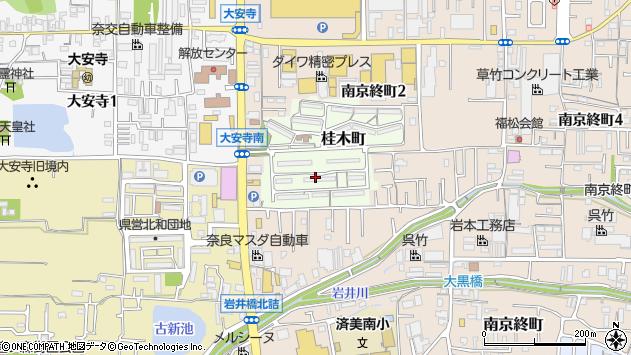 〒630-8143 奈良県奈良市桂木町の地図
