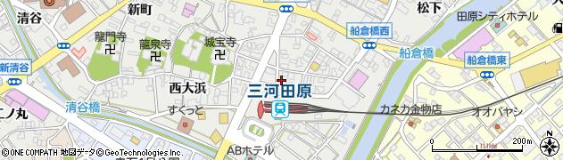 椿周辺の地図