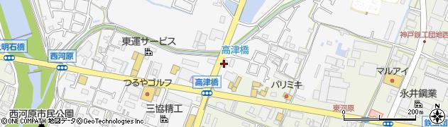 風来坊 神戸市西区周辺の地図