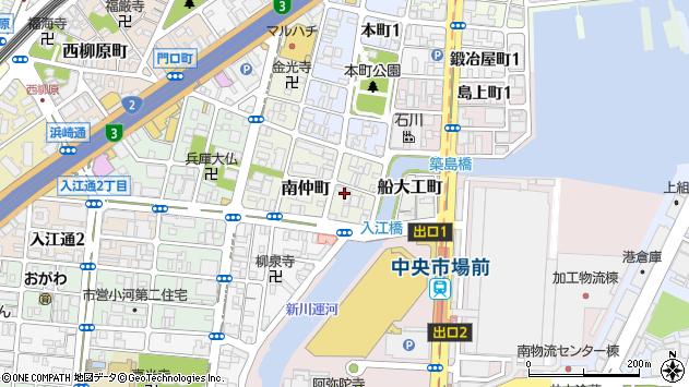 〒652-0842 兵庫県神戸市兵庫区磯之町の地図