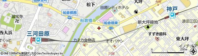愛知県田原市神戸町(後申)周辺の地図