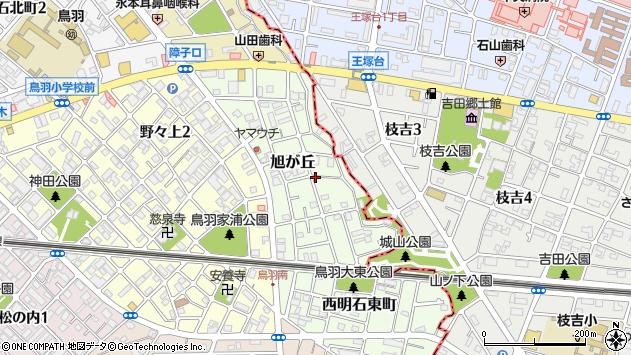 〒673-0002 兵庫県明石市旭が丘の地図