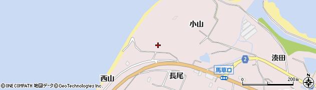 愛知県田原市野田町(小山)周辺の地図