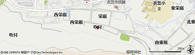 愛知県田原市田原町(吹付)周辺の地図
