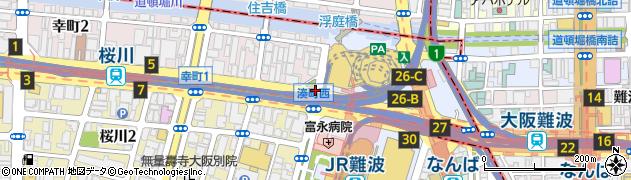 湊町西周辺の地図
