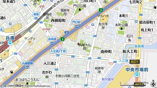 〒652-0837 兵庫県神戸市兵庫区北逆瀬川町の地図