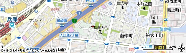 兵庫県神戸市兵庫区北逆瀬川町周辺の地図
