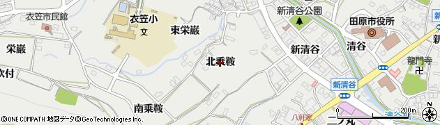 愛知県田原市田原町(北乗鞍)周辺の地図