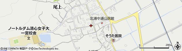 岡山県岡山市北区尾上周辺の地図