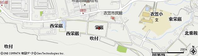 愛知県田原市田原町(栄巌)周辺の地図