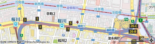 こいずみ鍼灸整骨院・桜川周辺の地図