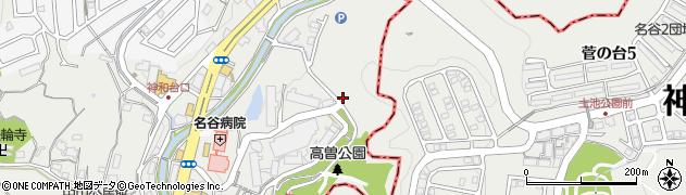名谷すみれホーム周辺の地図
