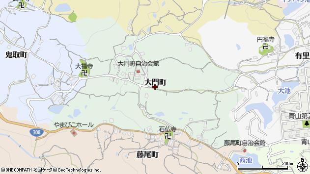 〒630-0238 奈良県生駒市大門町の地図