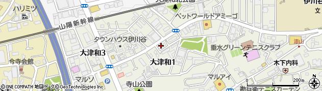 兵庫県神戸市西区大津和周辺の地図