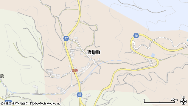 〒630-2172 奈良県奈良市沓掛町の地図