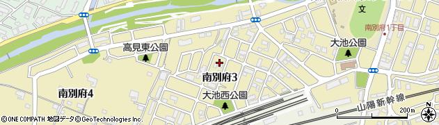 兵庫県神戸市西区南別府周辺の地図