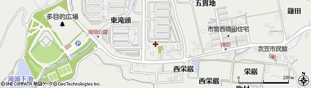 愛知県田原市田原町(東滝頭)周辺の地図