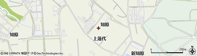 愛知県豊橋市杉山町(上蓮代)周辺の地図