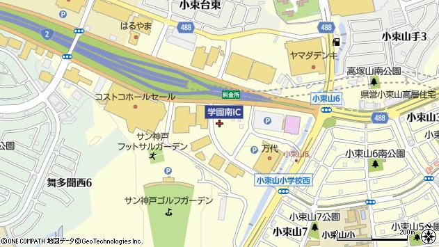 〒655-0001 兵庫県神戸市垂水区多聞町の地図