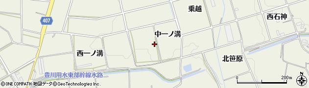 愛知県豊橋市高塚町(中一ノ溝)周辺の地図