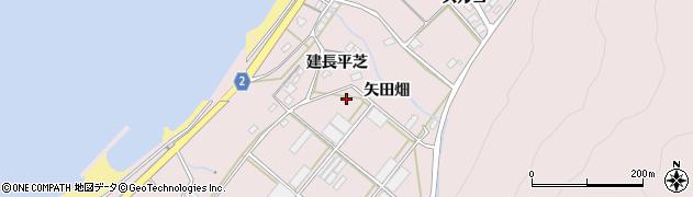 愛知県田原市野田町(平芝)周辺の地図