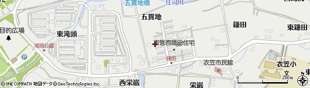 愛知県田原市田原町(西鎌田)周辺の地図