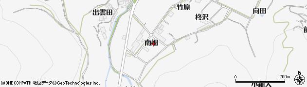 愛知県田原市仁崎町(南畑)周辺の地図
