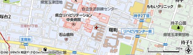 兵庫県神戸市西区曙町周辺の地図