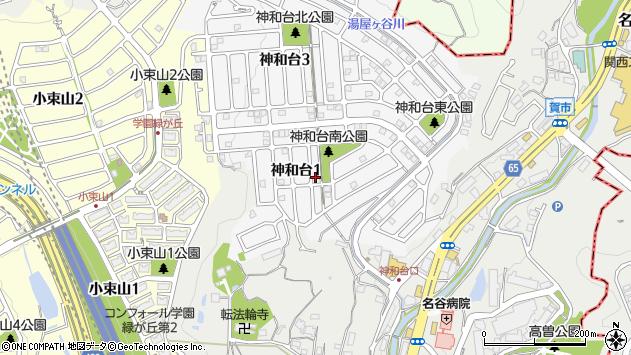 〒655-0851 兵庫県神戸市垂水区神和台の地図