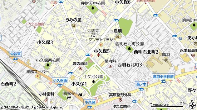 〒673-0004 兵庫県明石市鳥羽弁財天の地図