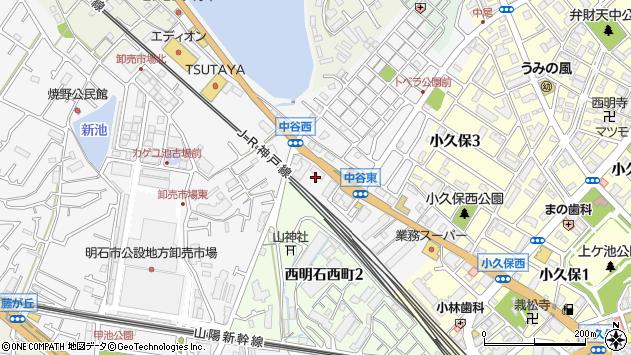 〒673-0048 兵庫県明石市藤江中谷山の地図
