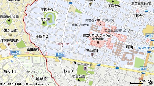 〒651-2135 兵庫県神戸市西区王塚台の地図
