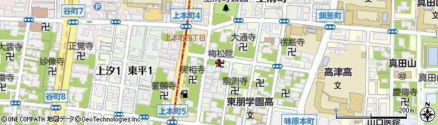 梅松院周辺の地図
