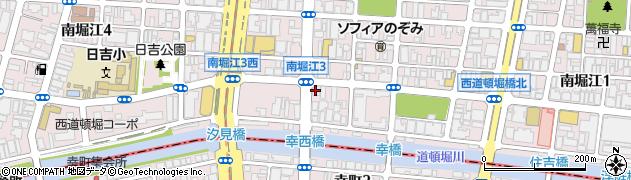 堀江動物医療センター周辺の地図