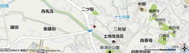 愛知県田原市田原町(東馬洗)周辺の地図