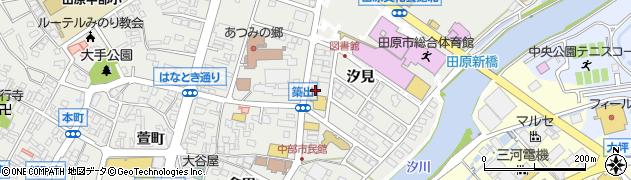 ぼうや周辺の地図