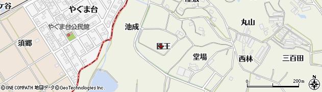 愛知県豊橋市杉山町(医王)周辺の地図