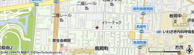 大阪府東大阪市新町13-4周辺の地図