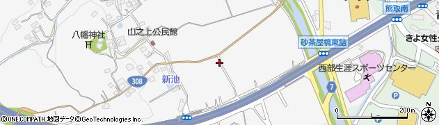 奈良県奈良市中町4751周辺の地図
