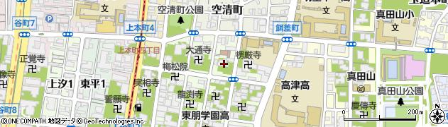 天龍院周辺の地図
